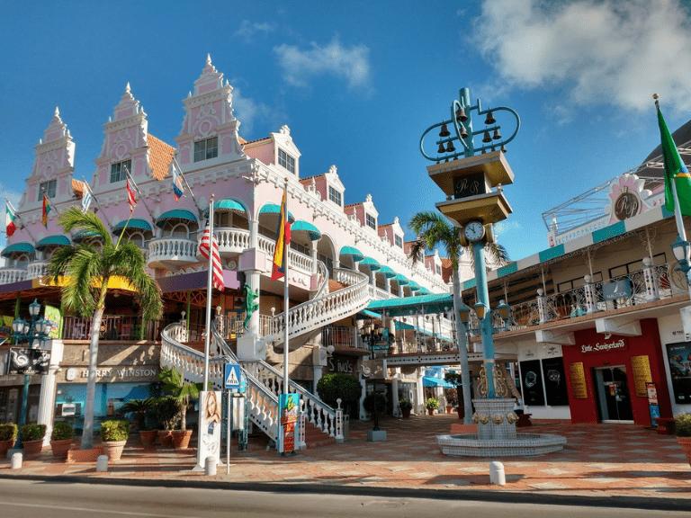 Oranjestad aruba island